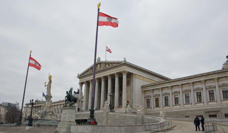 Parlamento austriaco en Viena.