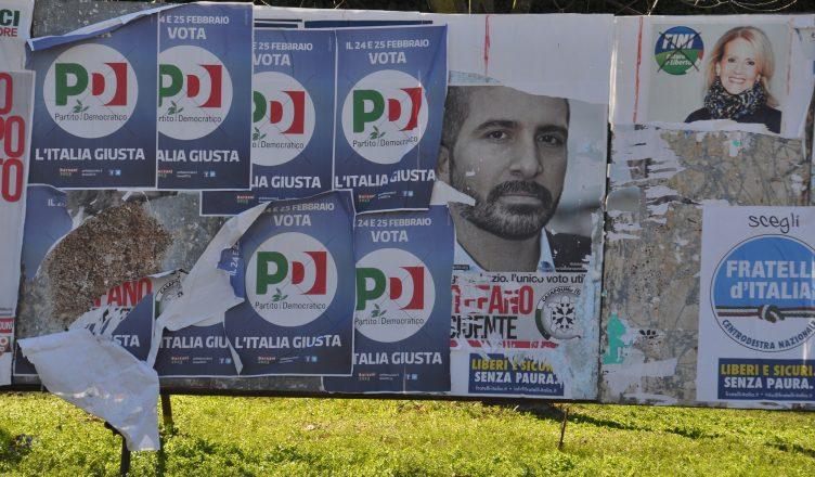 Italia en campaña electoral. Foto / Simone Ramella. CC BY